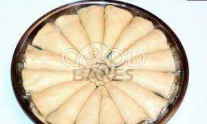 Пирог с корицей и карамельными яблоками рецепт шаг 17