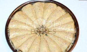 Пирог с корицей и карамельными яблоками рецепт шаг 18