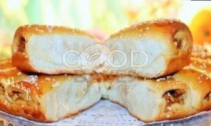 Пирог с корицей и карамельными яблоками рецепт шаг 21