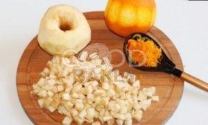 Пирог с корицей и карамельными яблоками рецепт шаг 7