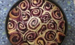 Пирог «Смородиновые завитки» рецепт шаг 6