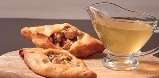 Расстегаи с горбушей и барабулькой кулинарный рецепт