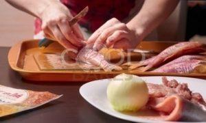 Расстегаи с горбушей и барабулькой рецепт шаг 9