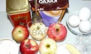 Шарлотка с яблоками «Мулатка» рецепт шаг 1