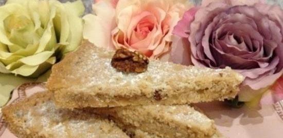 Шотландское печенье с орехом и цукатами кулинарный рецепт