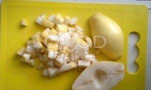 Штрудель с грушами, яблоками и изюмом рецепт шаг 6