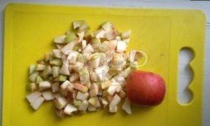 Штрудель с грушами, яблоками и изюмом рецепт шаг 7