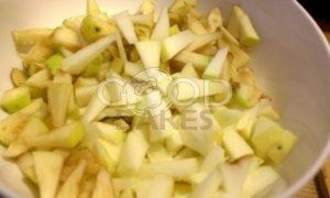 Слойки с яблоками и пломбиром рецепт шаг 6