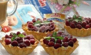 Тарталетки с заварным кремом и белым шоколадом рецепт шаг 12