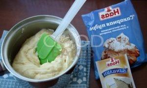 Тарталетки с заварным кремом и белым шоколадом рецепт шаг 9