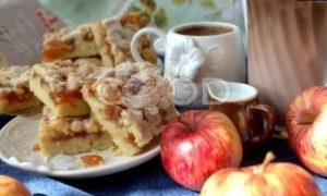 Тертый пирог «Яблочный» рецепт шаг 21