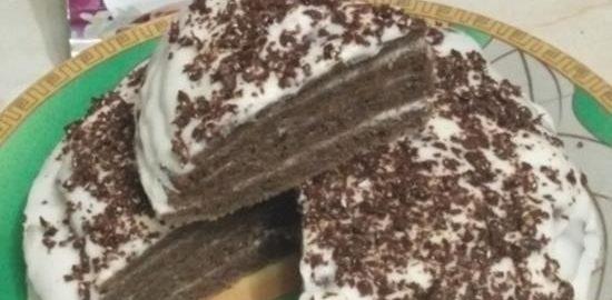 Торт черемуховый кулинарный рецепт
