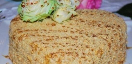 Торт «Малиновое сердце» кулинарный рецепт