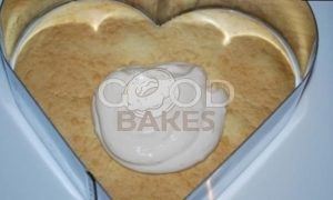 Торт «Малиновое сердце» рецепт шаг 20