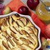 Творожная запеканка с яблоками кулинарный рецепт