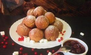 Творожные пончики кулинарный рецепт