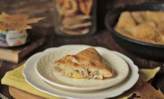 Заливной пирог с тунцом кулинарный рецепт