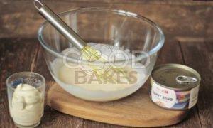 Заливной пирог с тунцом рецепт шаг 3