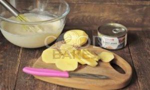 Заливной пирог с тунцом рецепт шаг 5