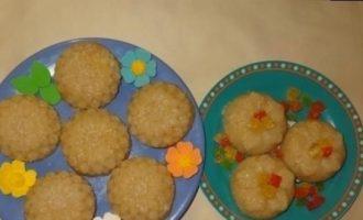 Болгарский десерт «Грис-халва» кулинарный рецепт