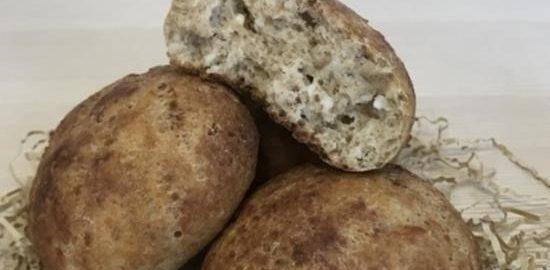 Булочки из цельнозерновой муки кулинарный рецепт