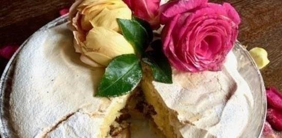 Яблочный пирог «Французский поцелуй» кулинарный рецепт