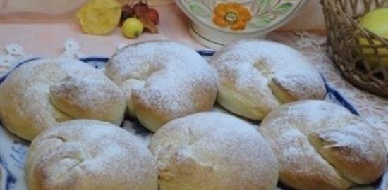 Испанские булочки с заварным кремом кулинарный рецепт