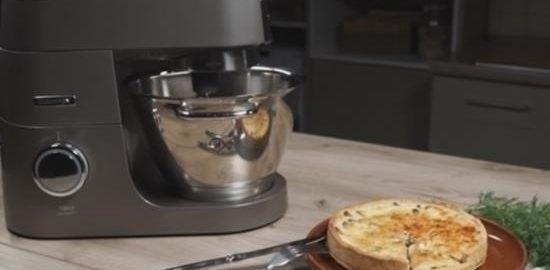 Киш с лисичками кулинарный рецепт