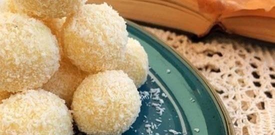 Кокосовые трюфели кулинарный рецепт