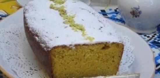 Кукурузный кекс с тыквой кулинарный рецепт
