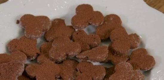 Легкое шоколадно-белковое печенье кулинарный рецепт