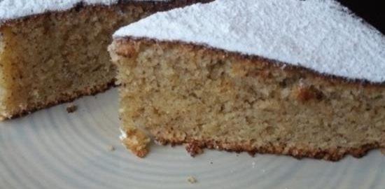 Ореховый пирог (Torta di nocciole) кулинарный рецепт