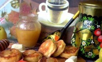 Осенние сырники кулинарный рецепт