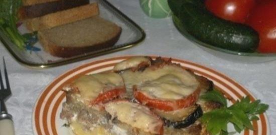 Овощная запеканка с фаршем кулинарный рецепт