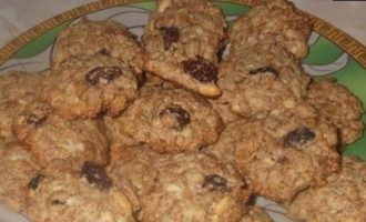 Печенье из мюсли кулинарный рецепт