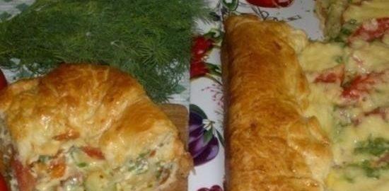Пирог «Овощной квартет» кулинарный рецепт