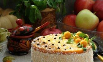 «Птичье молоко» из тыквы кулинарный рецепт
