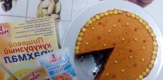 Веганский морковный торт кулинарный рецепт