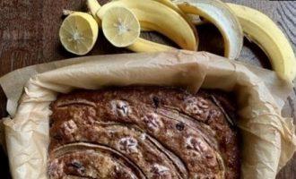 Банановый пирог «Генри» кулинарный рецепт