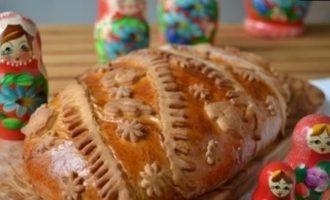 Борканник (пирог с морковью) кулинарный рецепт
