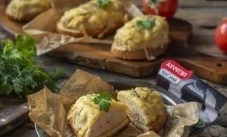 Горячие бутерброды в духовке кулинарный рецепт