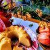 Кекс-флан с ягодами кулинарный рецепт