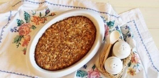Крупеник гречневый кулинарный рецепт