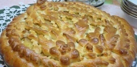 Московский пирог с вареньем кулинарный рецепт