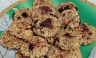 Печенье из мюсли на кефире кулинарный рецепт