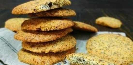 Печенье с маком и шоколадом кулинарный рецепт