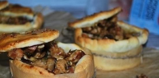 Пироги с мясной начинкой кулинарный рецепт