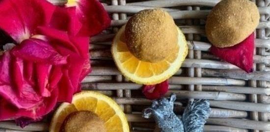 Трюфельное пирожное с ликером и апельсином кулинарный рецепт