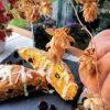 Тыквенные сконы с клюквой кулинарный рецепт