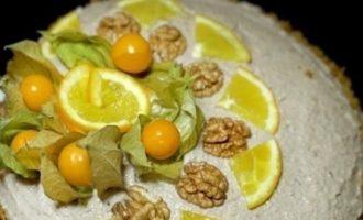 Тыквенный торт кулинарный рецепт